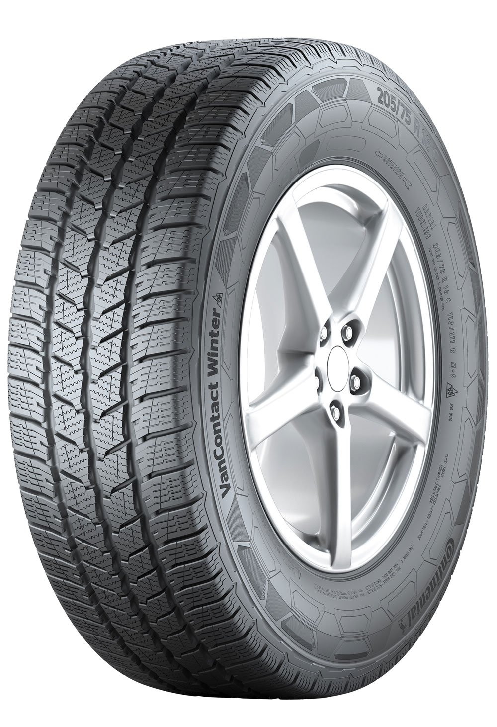 Anvelope Continental Van Contact Winter 225/65R16C 112/110R Iarna