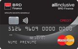 Plata in rate prin card All Inclusive BRD Finance